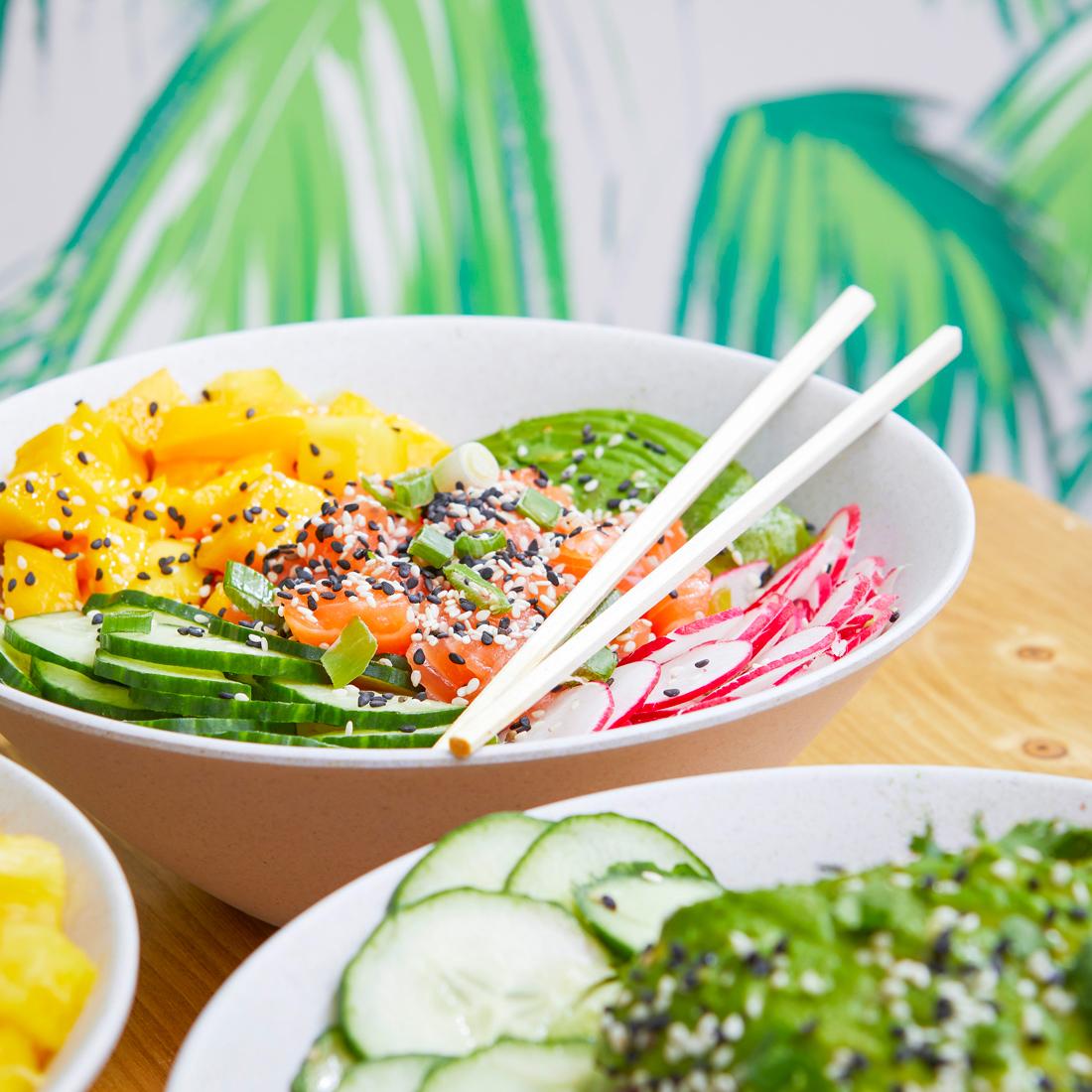 poke bowl saumon poke bar