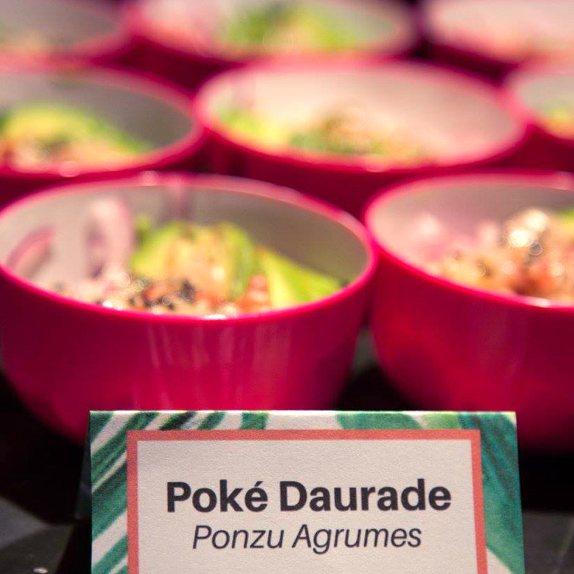 poke bar restaurant Hawaiien traiteur