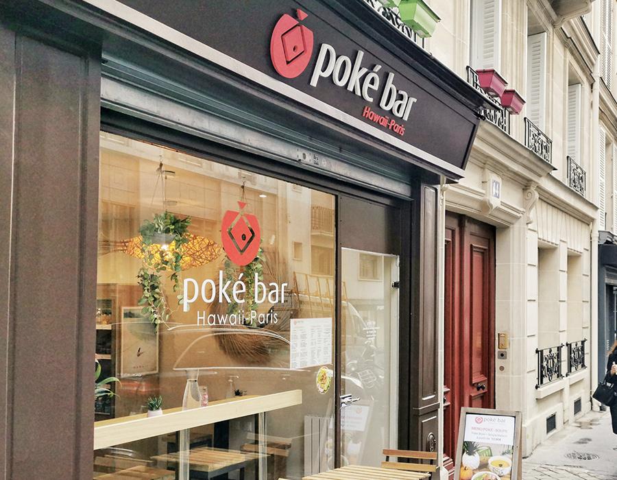 restaurant poke bar paris 8 Artois