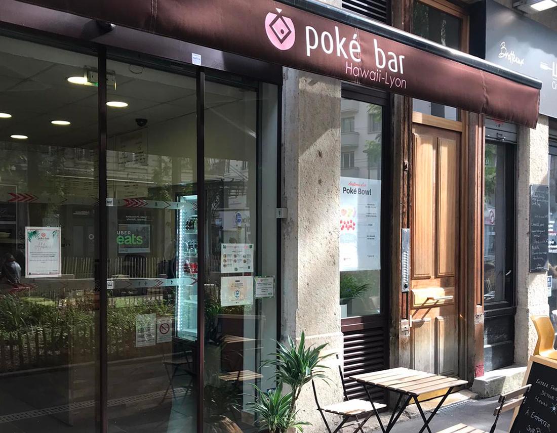 restaurant poke bar Lyon 6 Brotteaux
